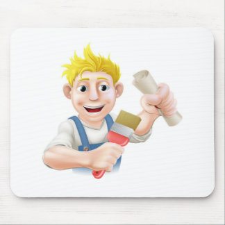 Qualified painter decorator mouse pads