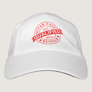 Qualified Super Fast Marathon Runner Hat