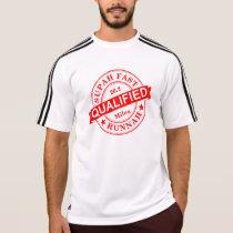 Qualified Super Fast Runner Adidas SS T-Shirt