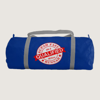 Qualified Super Fast Runner Duffle Bag