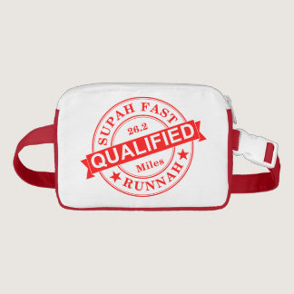Qualified Super Fast Runner Fanny Pack