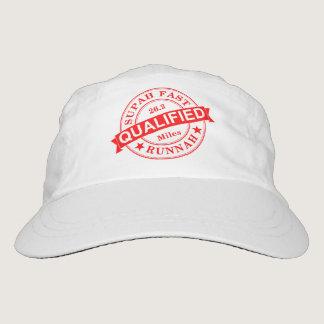 Qualified Super Fast Runner Hat