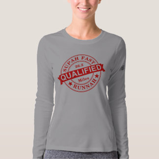 Qualified Super Fast Runner New Balance LS T-shirt