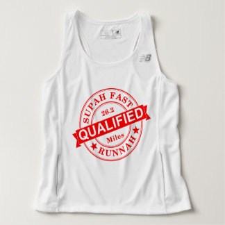 Qualified Super Fast Runner New Balance Tank Top