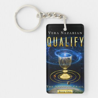 Qualify and Compete - Book Covers - Key Chain