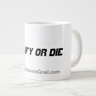 Qualify or Die - Jumbo Mug