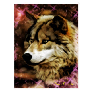 Qualities of the Wolf Postcard