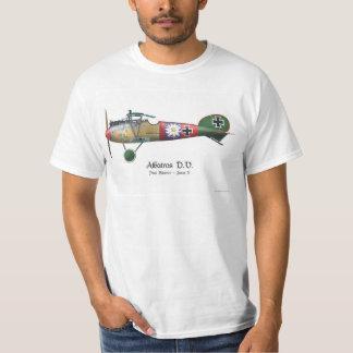 Quality Albatros D.V. ww1 German Fighter Plane Ace T-Shirt