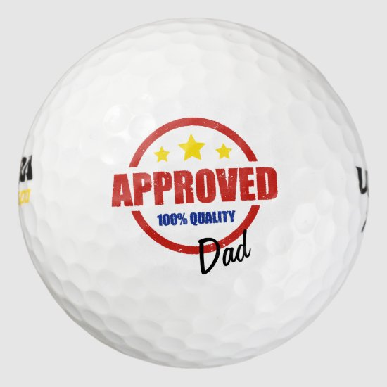 Quality Approved Dad Golf Balls