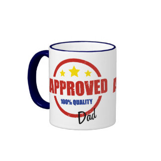 Quality Approved Dad Ringer Coffee Mug