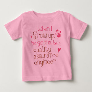 Quality Assurance Engineer (Future) Infant Baby T- Baby T-Shirt