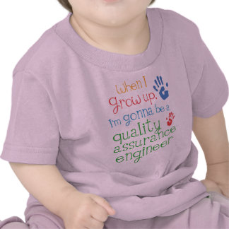 Quality Assurance Engineer (Future) Infant Baby T- Tee Shirts