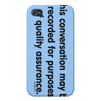Quality Assurance iPhone 4 Covers