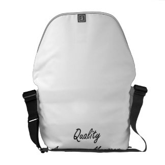 Quality Assurance Manager Artistic Job Design Courier Bags