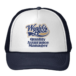 Quality Assurance Manager Gift Trucker Hat