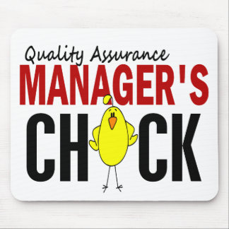 QUALITY ASSURANCE MANAGER'S CHICK MOUSE PADS