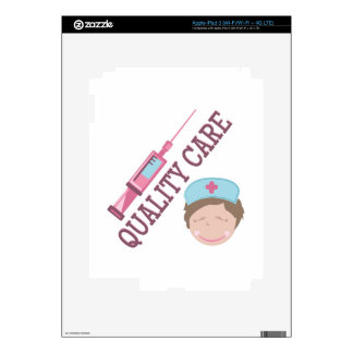 Quality Care Decals For iPad 3