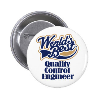 Quality Control Engineer Gift Buttons
