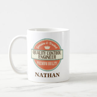 Quality Control Engineer Personalized Mug Gift