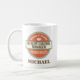 Quality Control Manager Personalized Mug Gift
