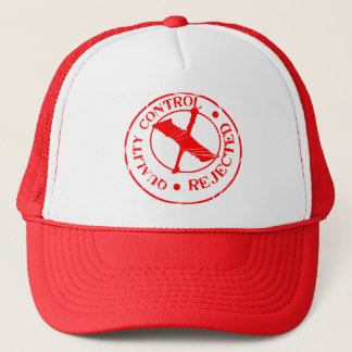Quality Control Reject Trucker Hat
