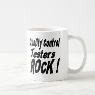 Quality Control Testers Rock! Mug