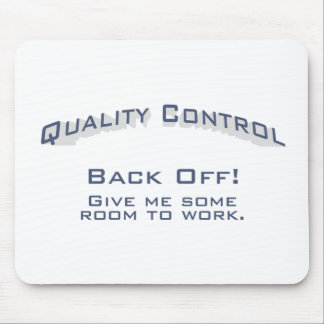 Quality Control / Work Mouse Pad