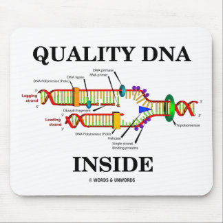 Quality DNA Inside (DNA Replication) Mouse Pad