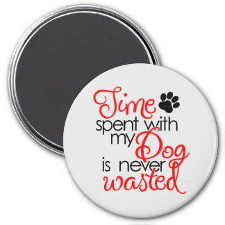 Quality Dog Time Magnet