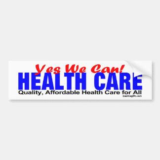 QUALITY HEALTH CARE BUMPER STICKER