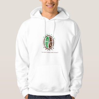 Quality HealthyCoffee branded hoodie