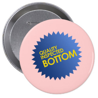 Quality Inspected Bottom Pinback Button