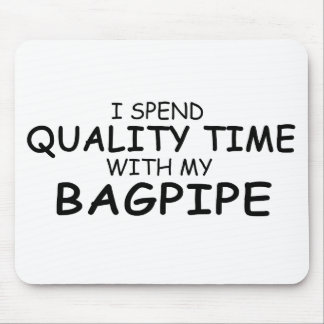 Quality Time Bagpipe Mousepad