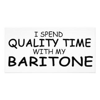 Quality Time Baritone Photo Card