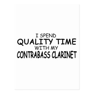 Quality Time Contrabass Clarinet Postcards