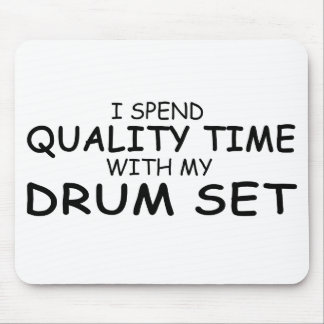 Quality Time Drum Set Mouse Pad