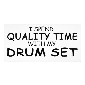 Quality Time Drum Set Photo Card