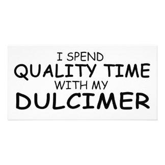 Quality Time Dulcimer Photo Card Template