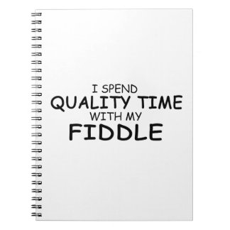 Quality Time Fiddle Note Books
