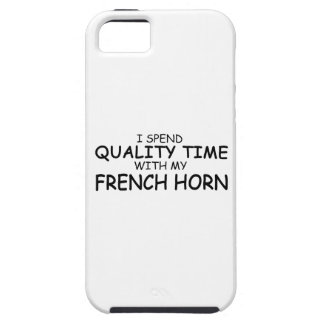 Quality Time French Horn iPhone SE/5/5s Case