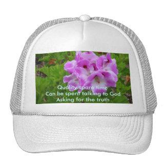 Quality Time Haiku Cap Trucker Hat