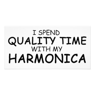 Quality Time Harmonica Photo Cards