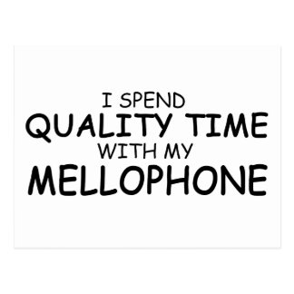 Quality Time Mellophone Postcard