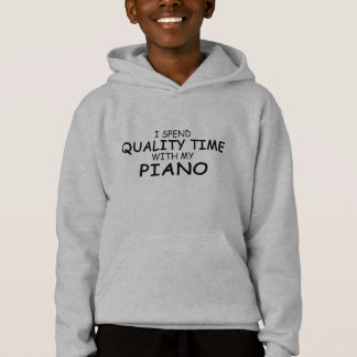 Quality Time Piano Hoodie