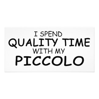 Quality Time Piccolo Card