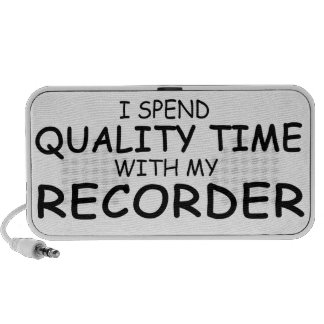 Quality Time Recorder Travelling Speakers