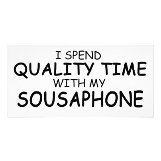 Quality Time Sousaphone Photo Card Template