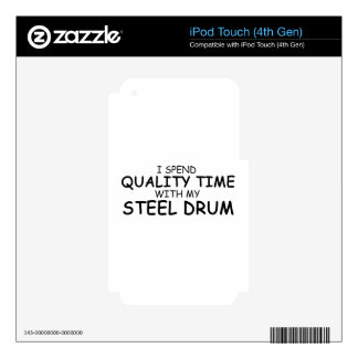 Quality Time Steel Drum Skin For iPod Touch 4G