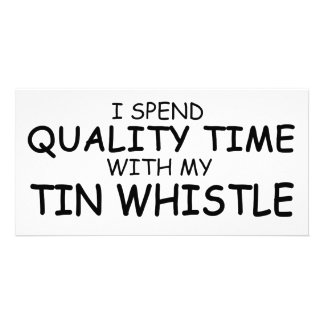 Quality Time Tin Whistle Photo Cards