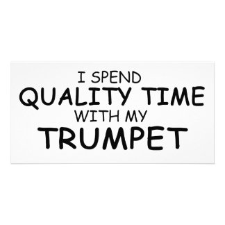 Quality Time Trumpet Card